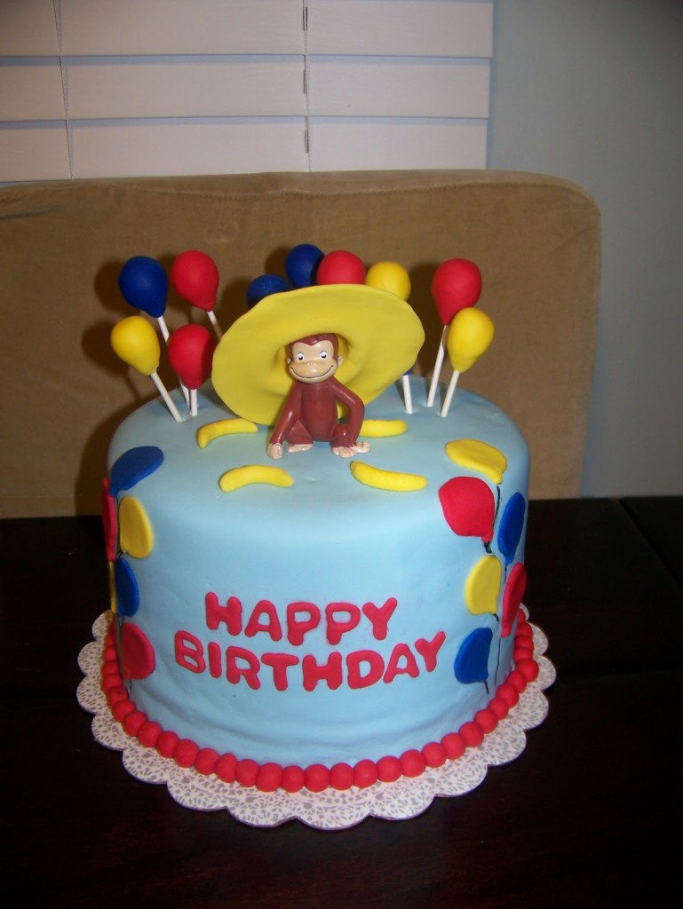 Curious George Cake Pictures