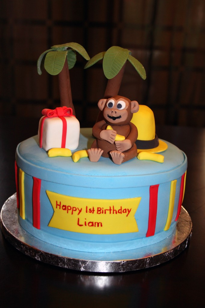 Curious George Birthday Cake Topper