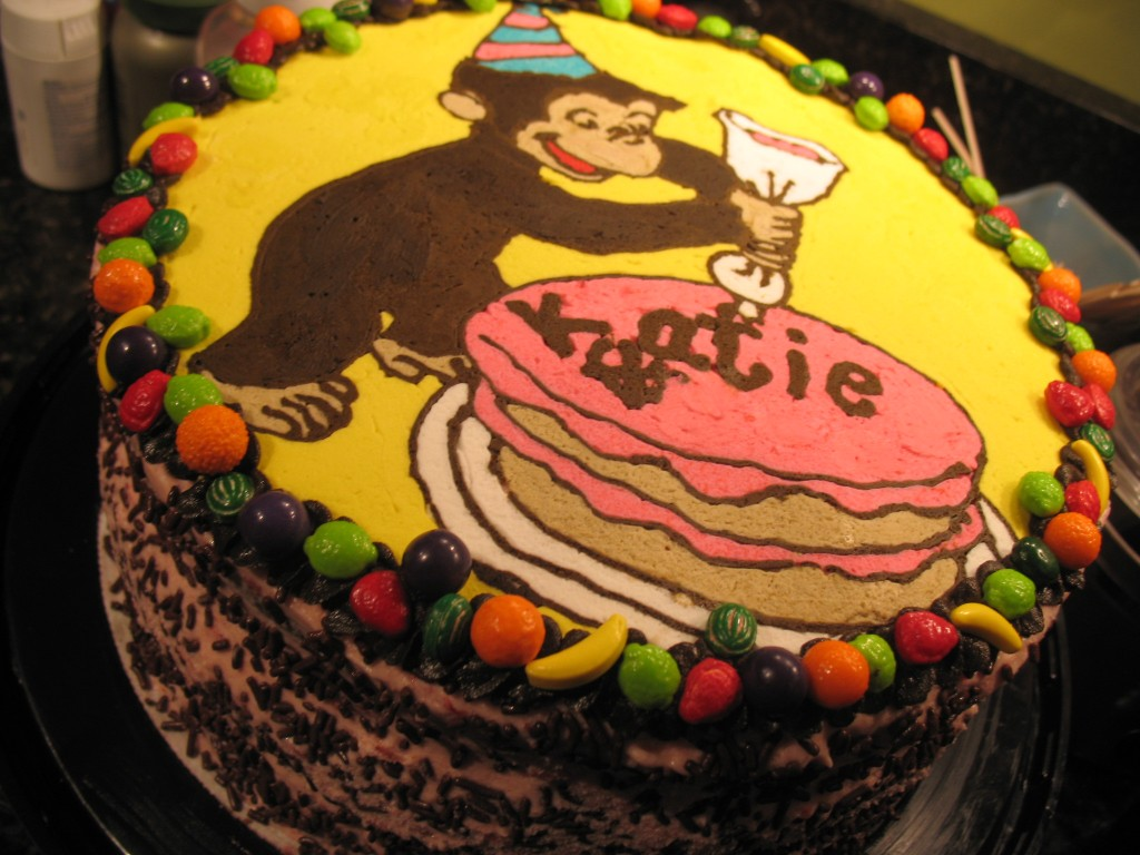 Curious George Cakes