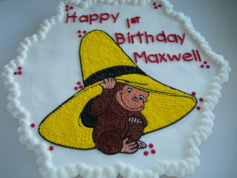 Curious George Cakes Photos
