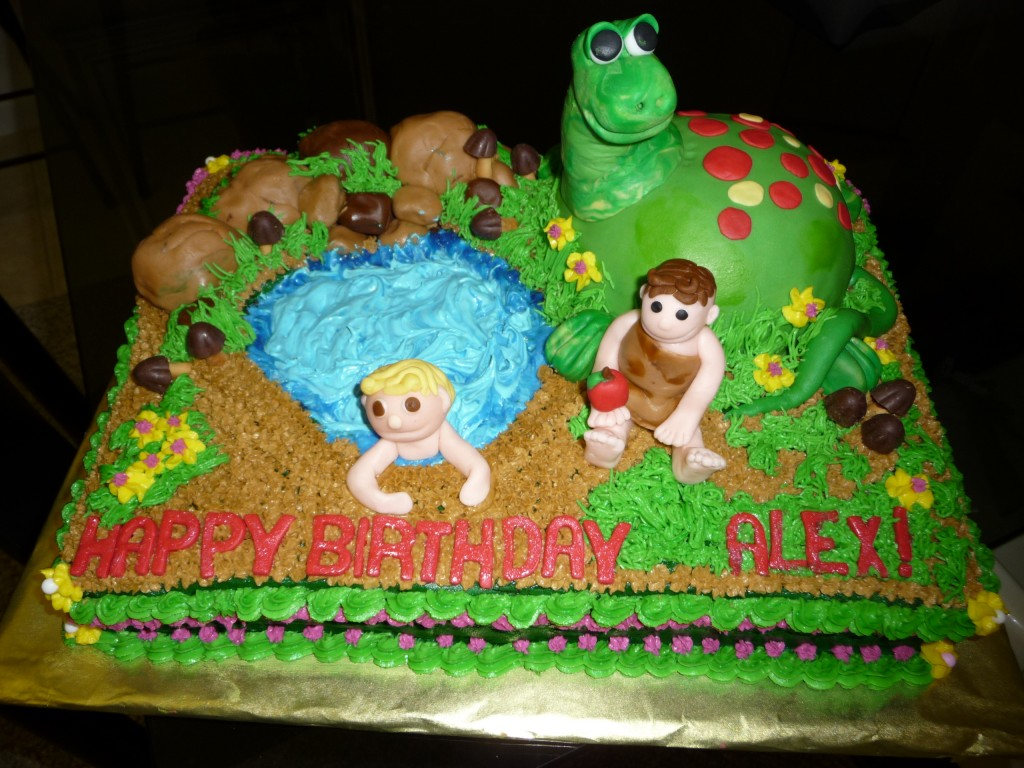 Dinosaur Train Cake Pan