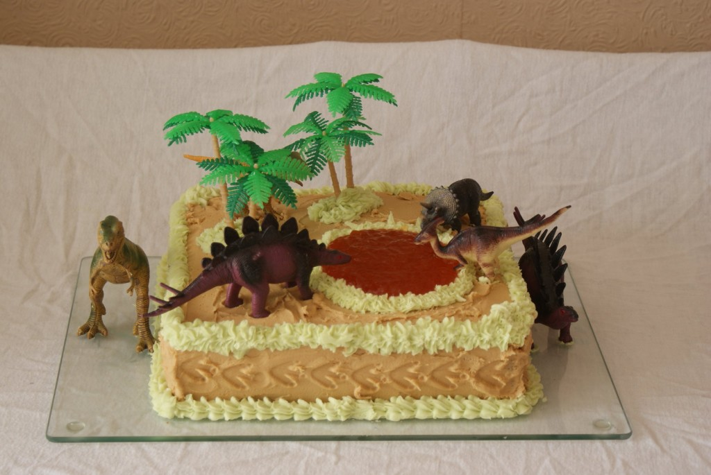 Dinosaur Birthday Cakes For Kids