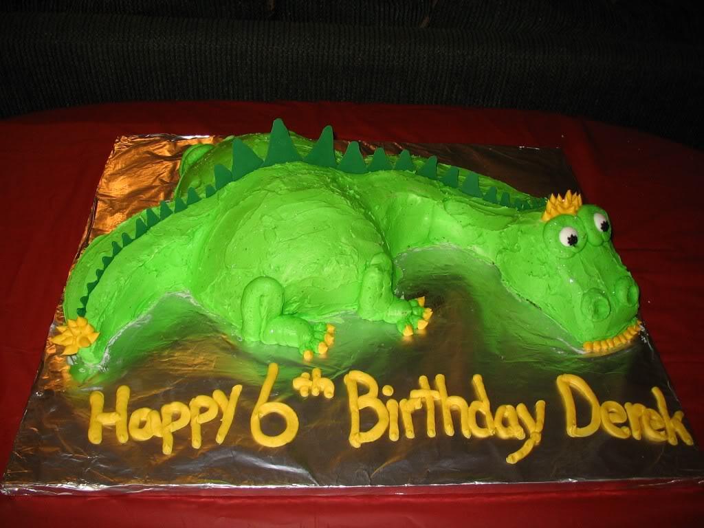 Dinosaur Cake Pictures