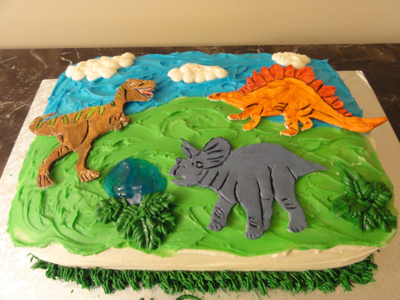 Dinosaur Birthday Cake Toppers Pinterest