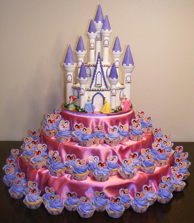 Birthday Cake Pictures Of Princess : Castle Cakes   Decoration Ideas Little Birthday Cakes