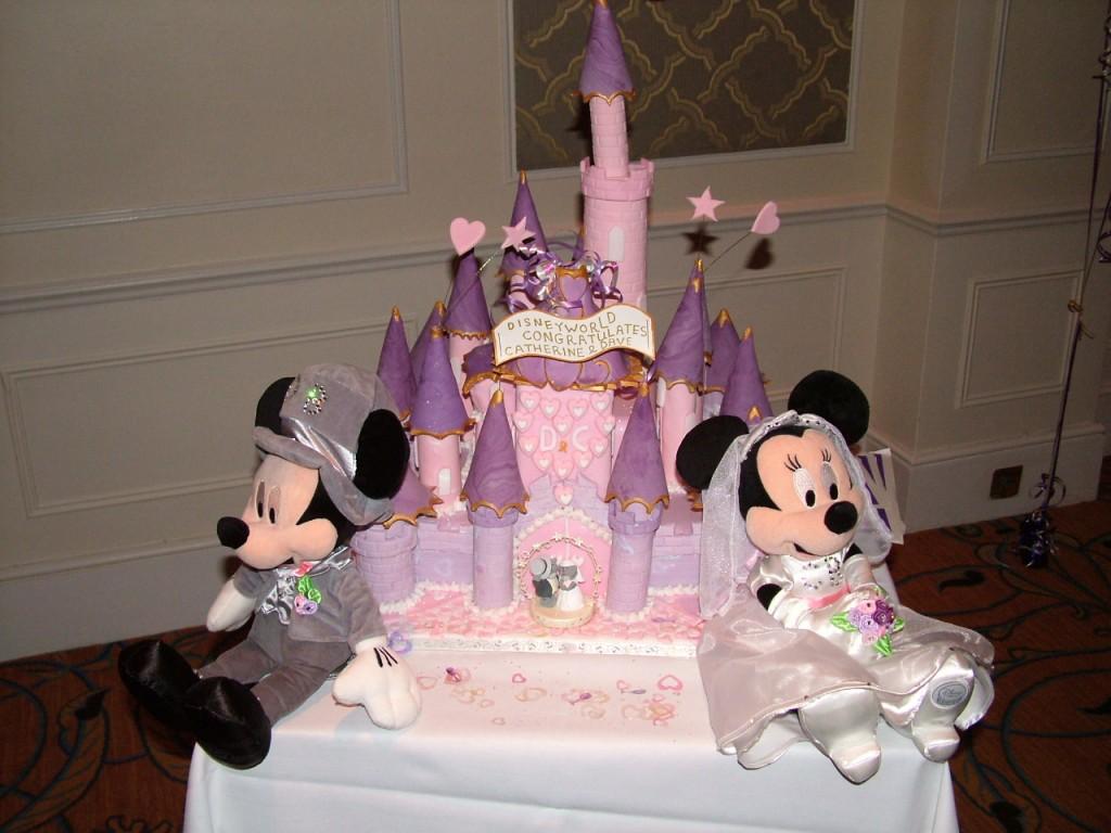 Disney Castle Cakes