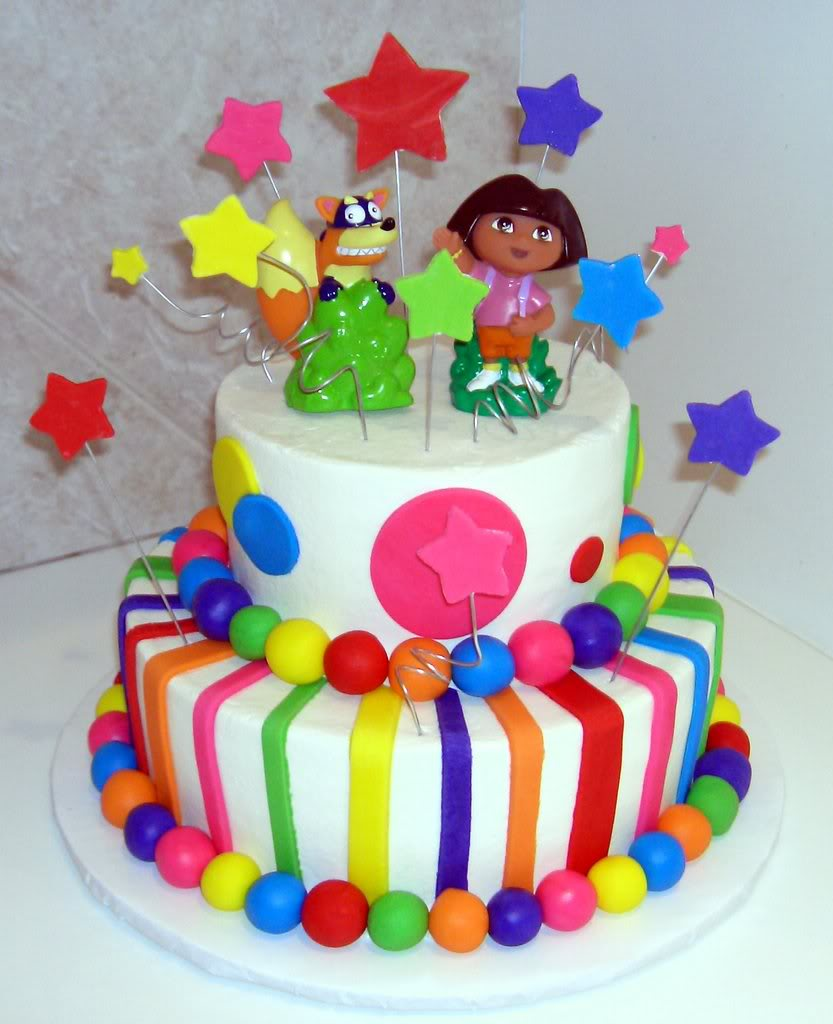 Dora Birthday Cake Ideas