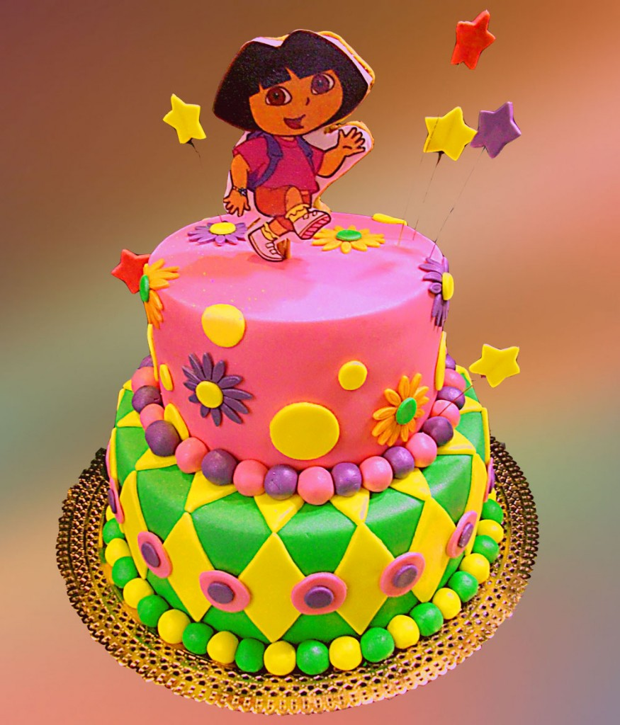 Birthday Cake Design Gallery : Dora Cakes   Decoration Ideas Little Birthday Cakes