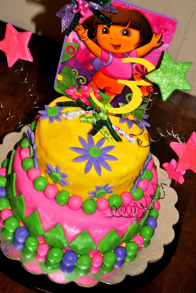 Dora Birthday Cakes Pictures