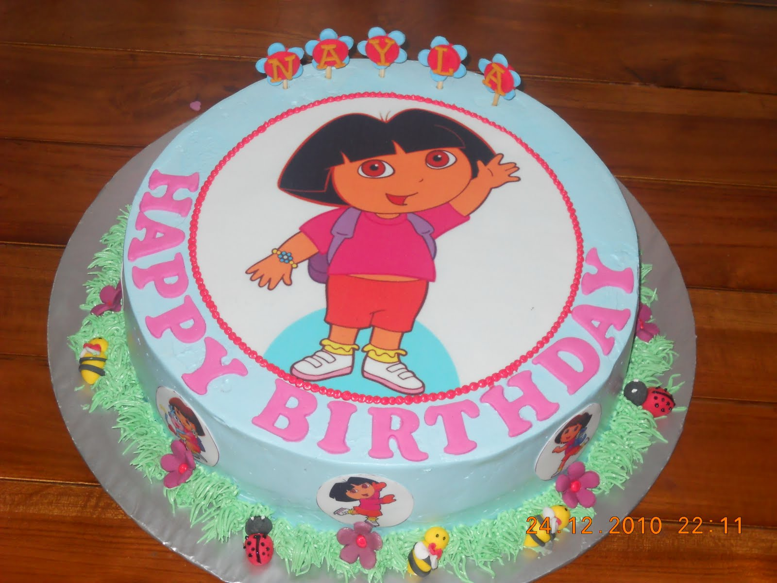 Dora The Explorer Birthday Cake Designs