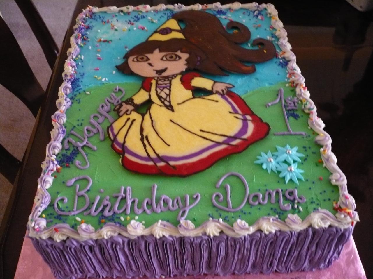 Cake Design Dora : Dora Cakes   Decoration Ideas Little Birthday Cakes
