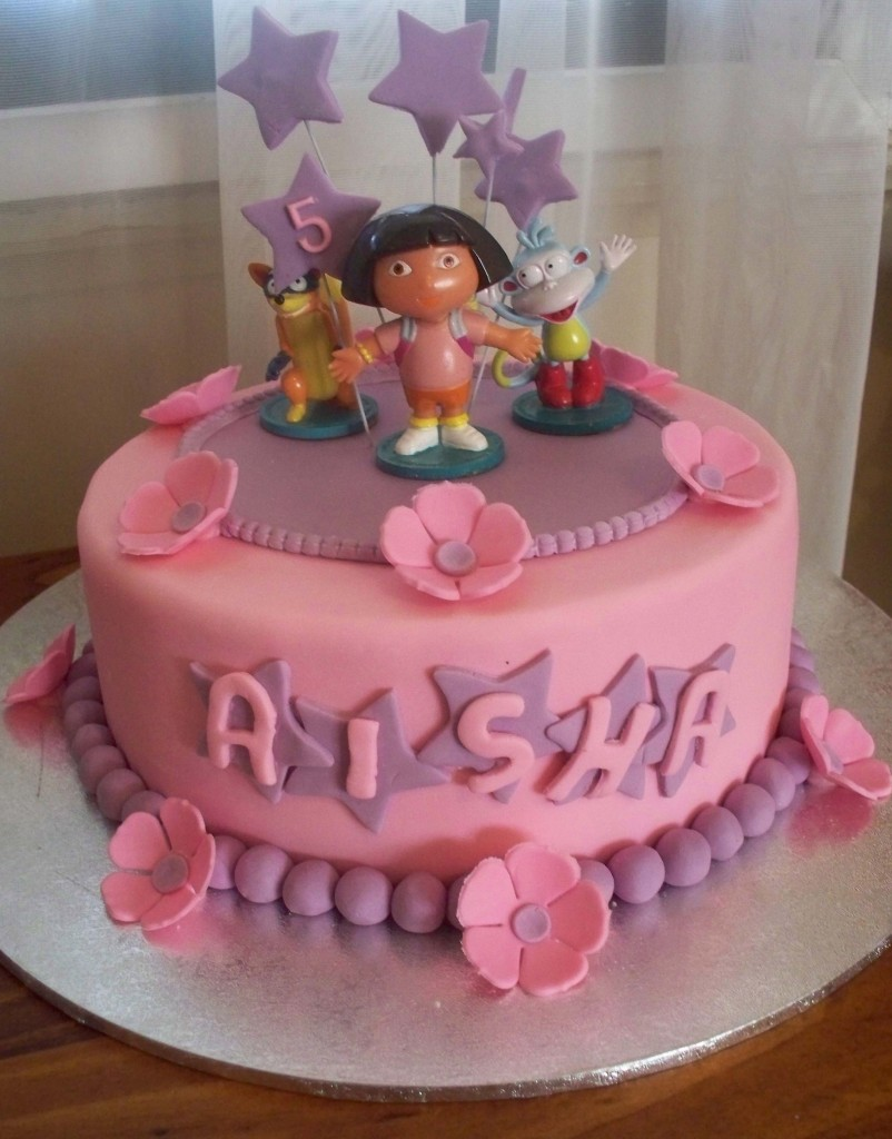 Dora Cakes Decoration Ideas Little Birthday Cakes