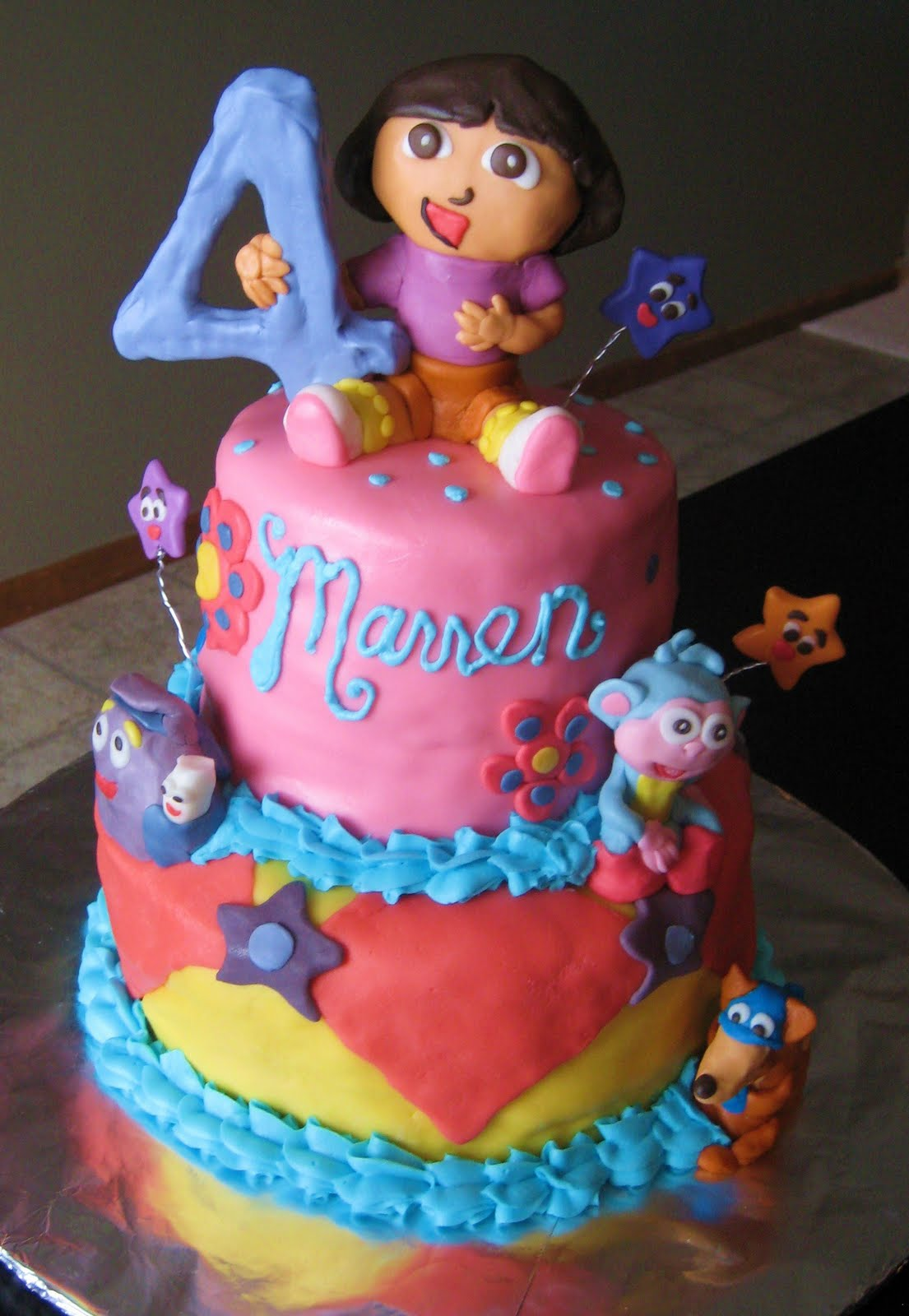 Cake Designs Dora The Explorer : Dora Cakes   Decoration Ideas Little Birthday Cakes