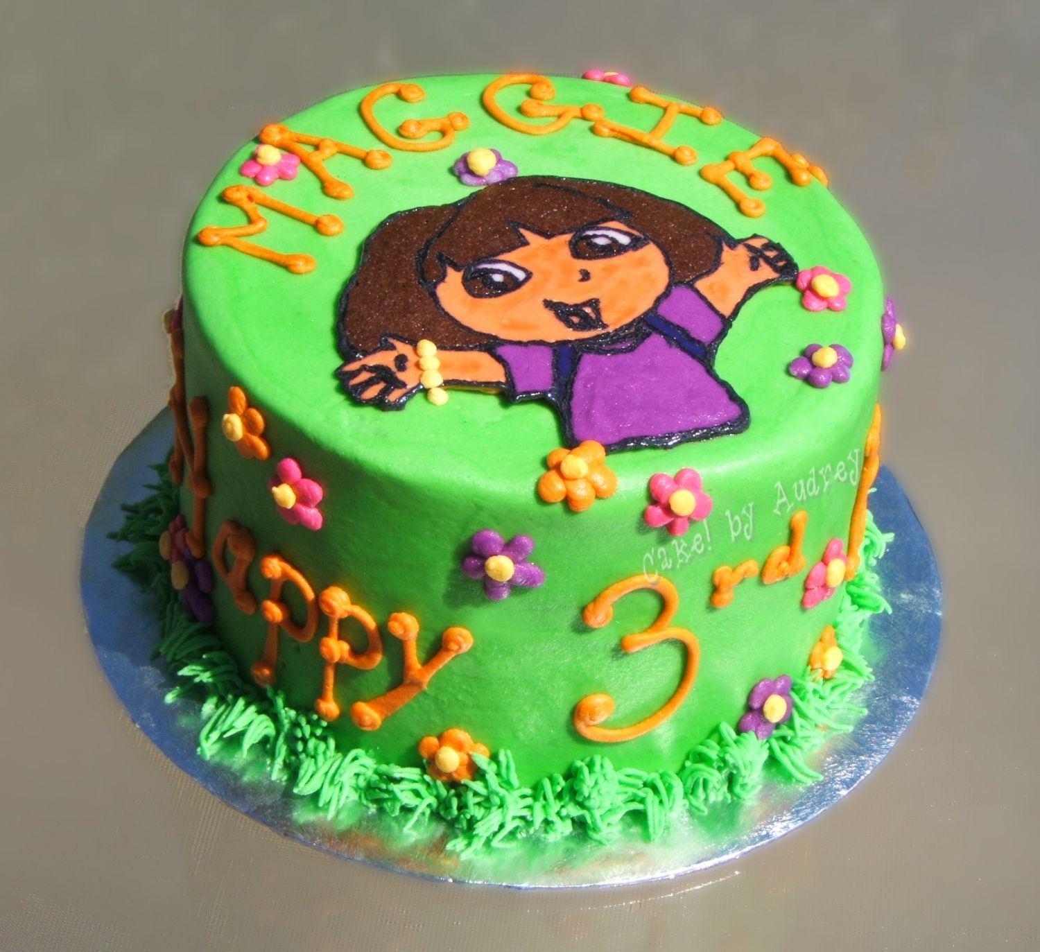 Pictures Of Dora The Explorer Birthday Cakes