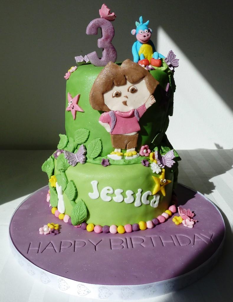 Dora Cakes Pictures