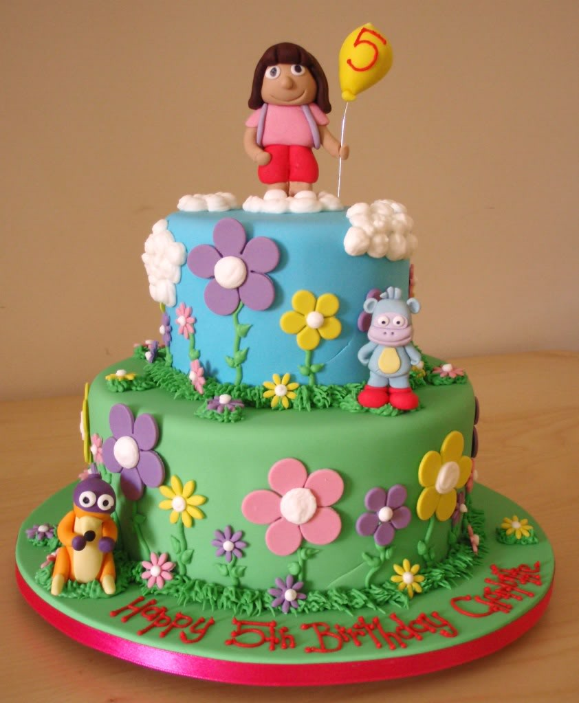 Dora The Explorer Cake Toppers