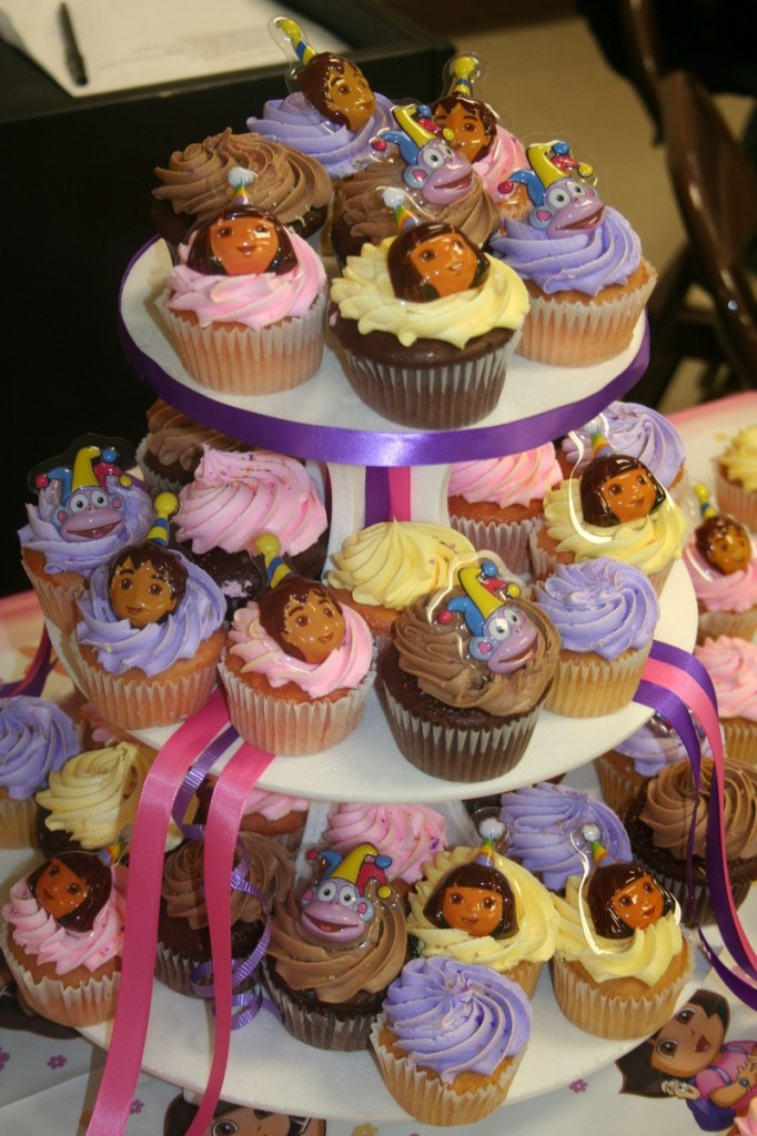 Dora The Explorer Cakes and Cupcakes