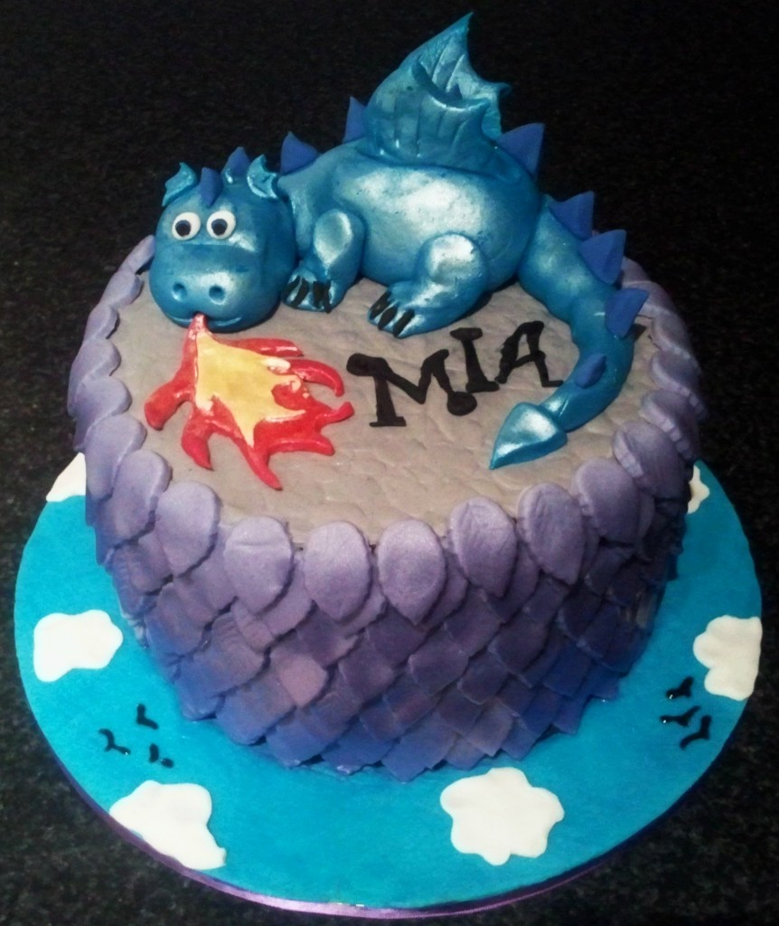 Dragon Cake For Kids