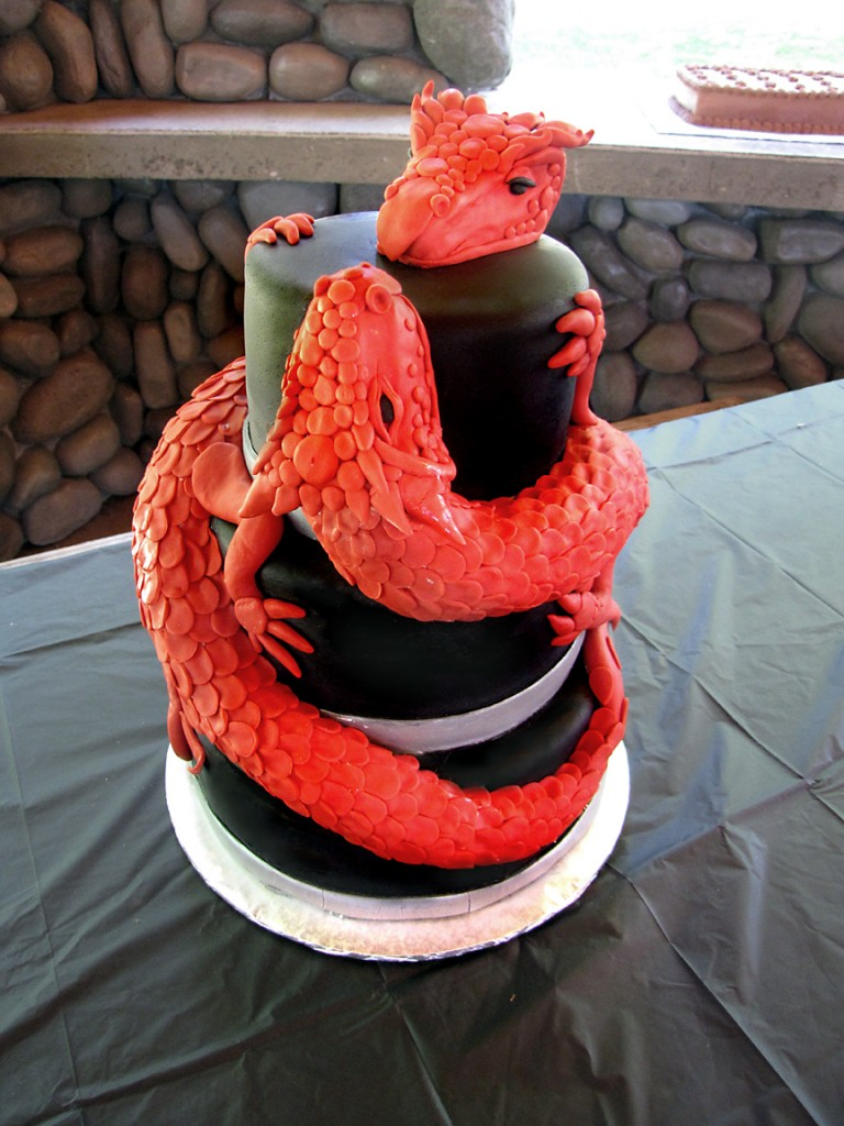 Dragon Cake Ideas