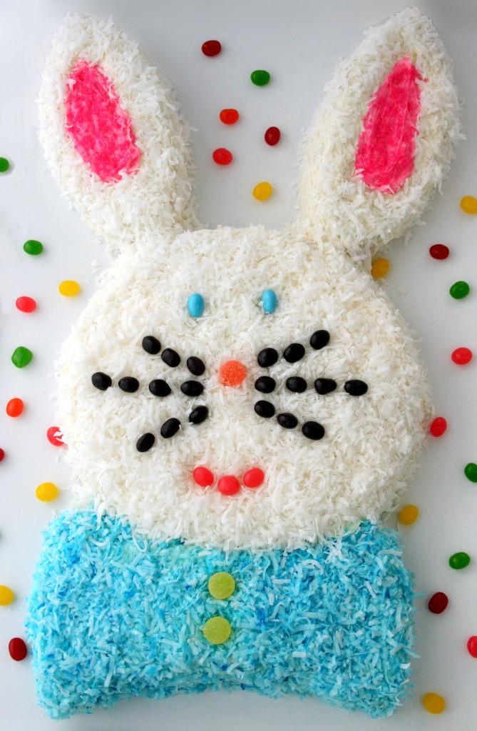 Easter Bunny Cake Design