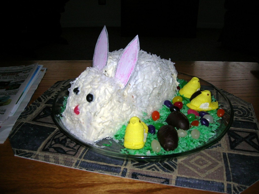 Easter Bunny Cake Ideas