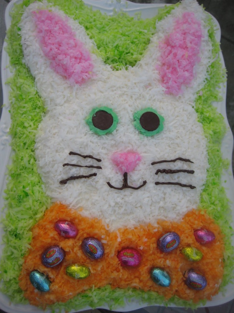 Easter Bunny Cake Recipe