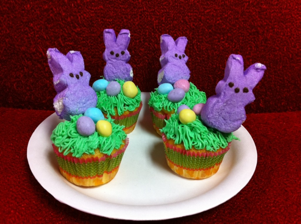 Easter Bunny Cakes Cupcakes