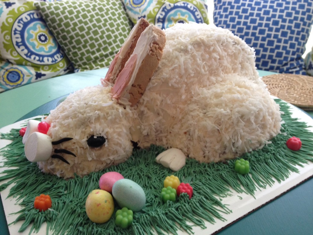 Easter Bunny Cakes Easy