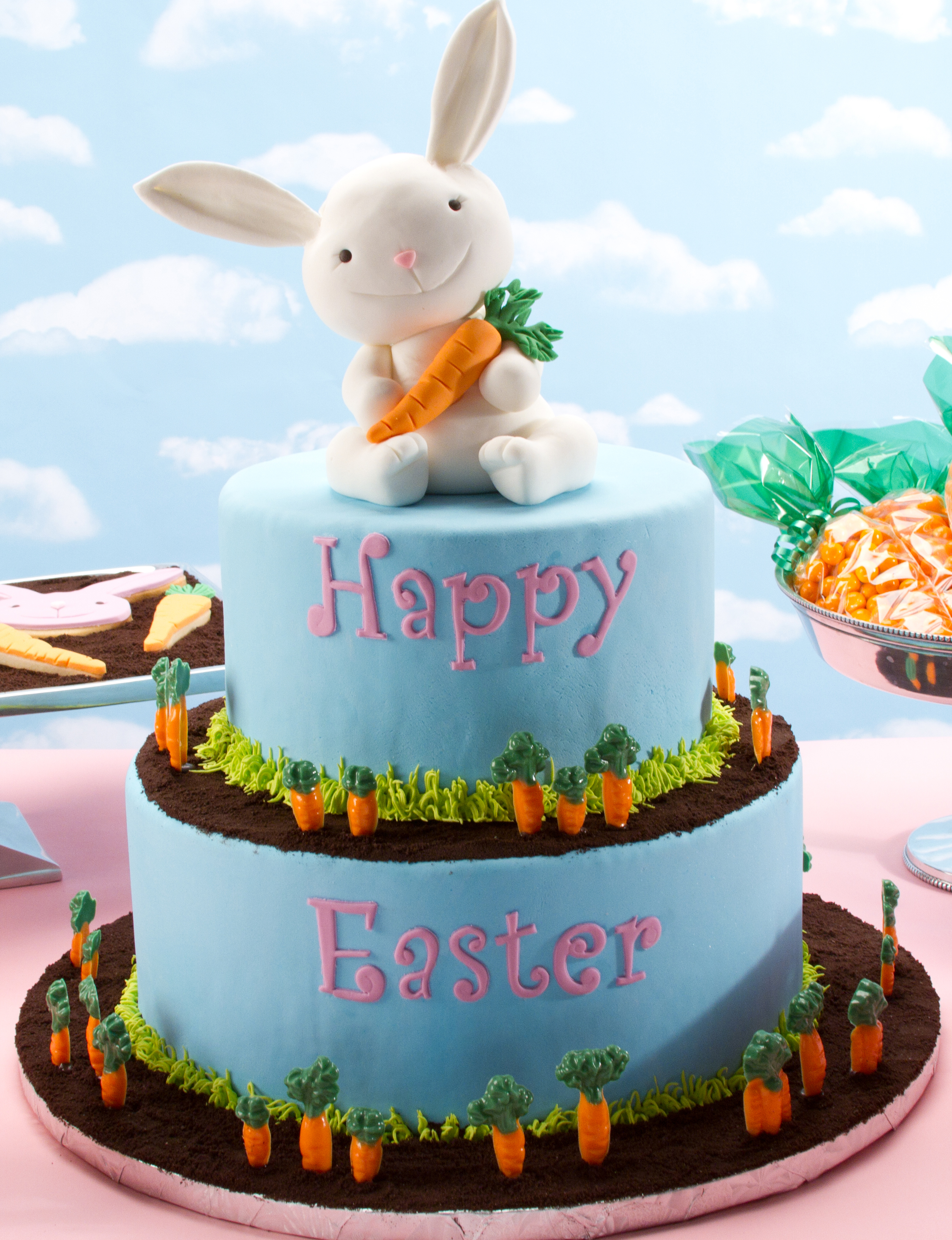 Easter Carrot Cake Decorating Ideas : Easter Bunny Cakes   Decoration Ideas Little Birthday Cakes