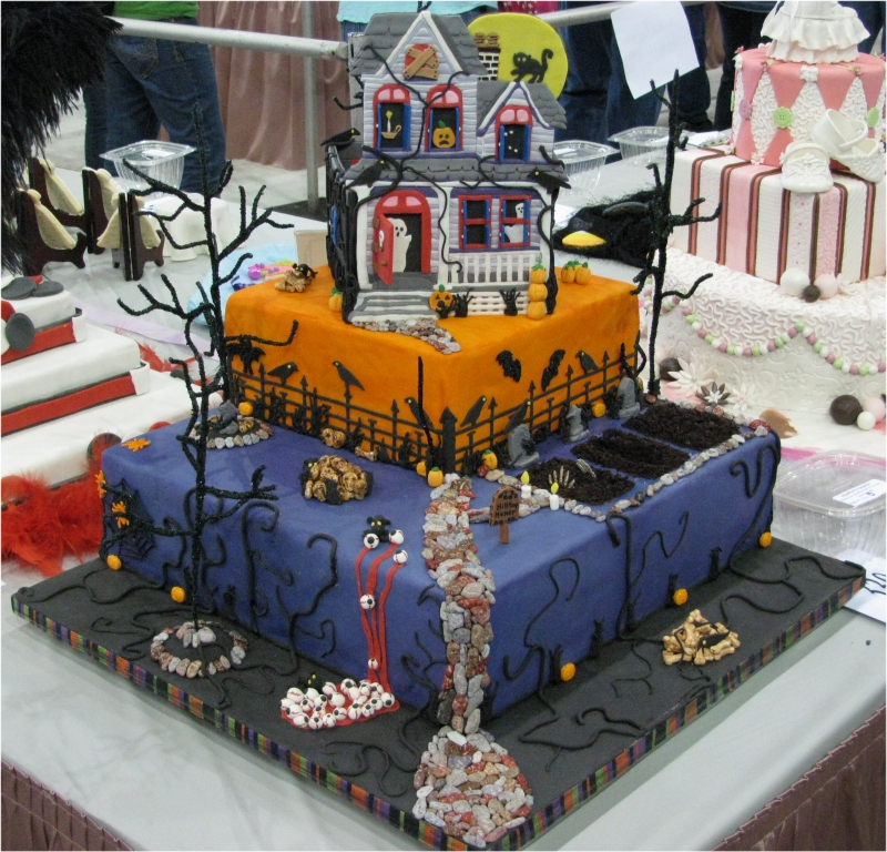 Easy Cake Decorating Halloween : Halloween Cakes   Decoration Ideas Little Birthday Cakes
