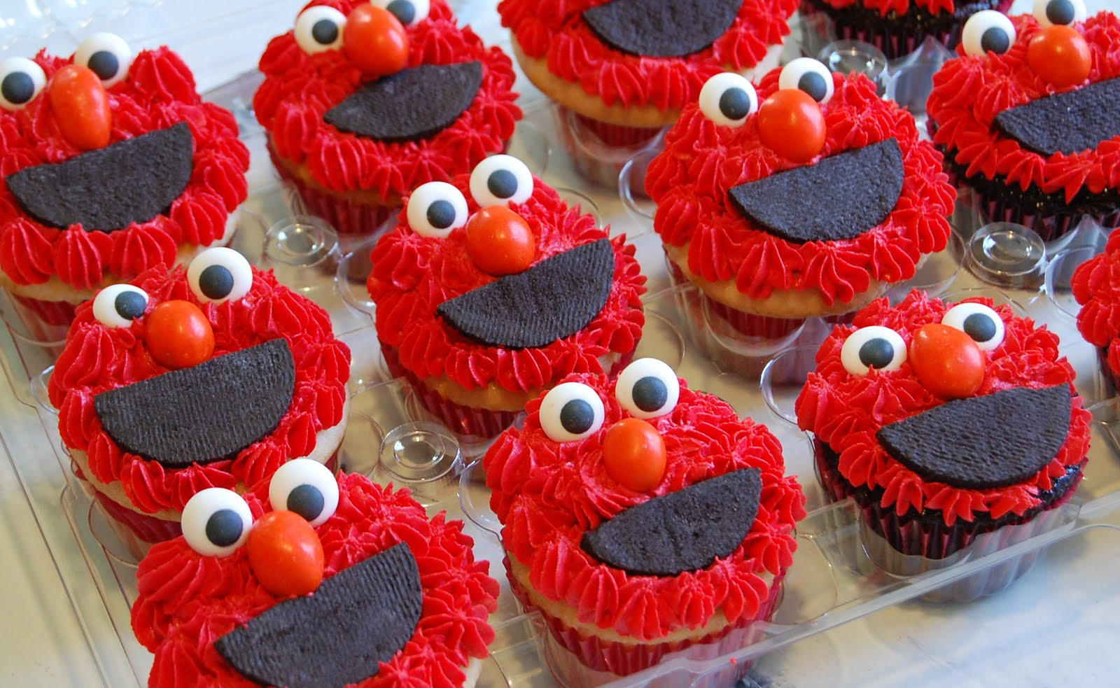 Elmo Cake Ideas Pictures