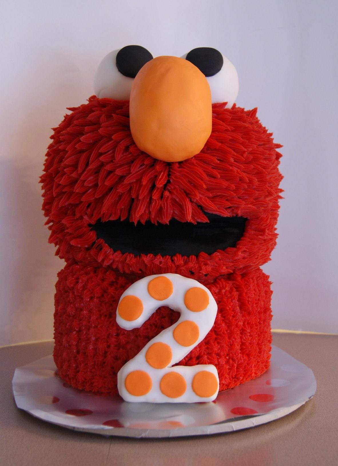 Elmo Birthday Cake Decorations