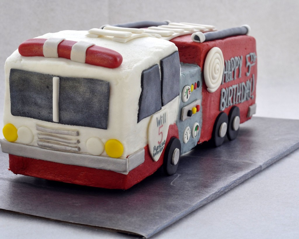 Fire Truck Birthday Cake Pictures