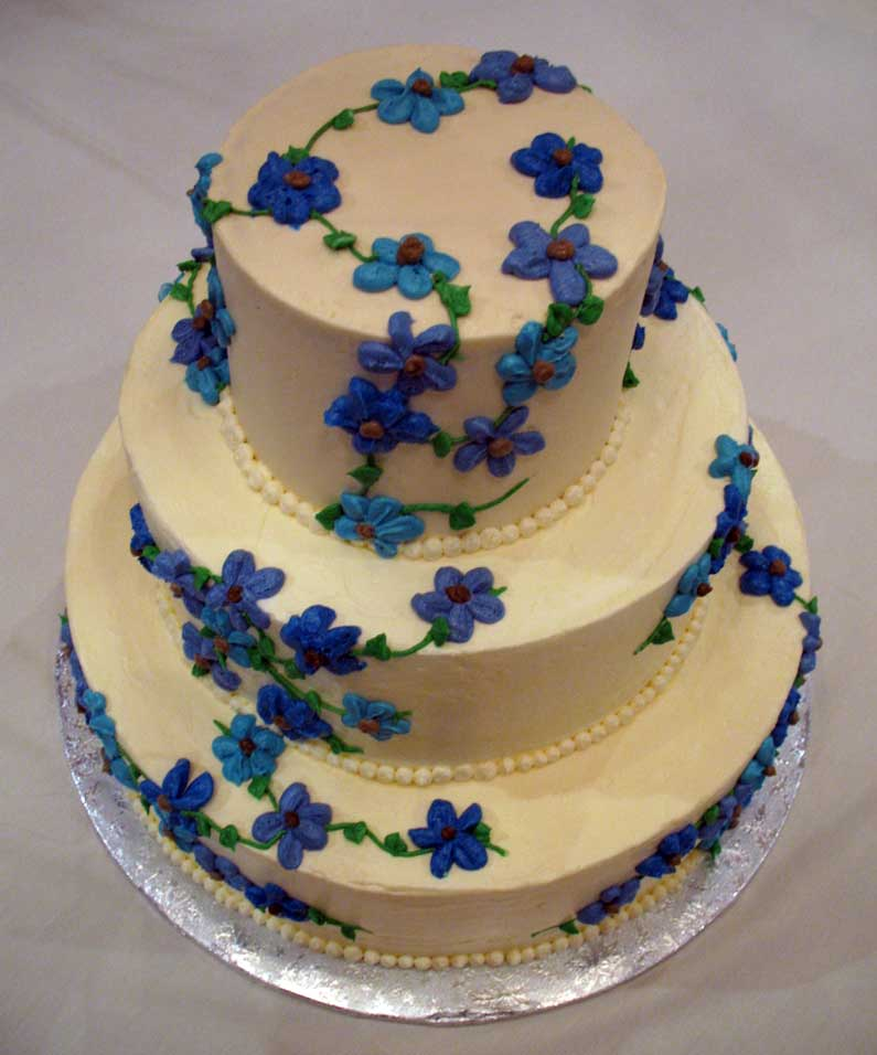 Flower Wedding Cupcake Ideas: Flower Cakes – Decoration Ideas