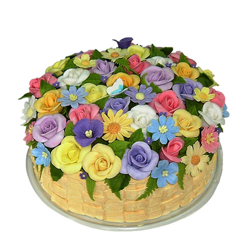 flower cakes  decoration ideas  little birthday cakes, Beautiful flower
