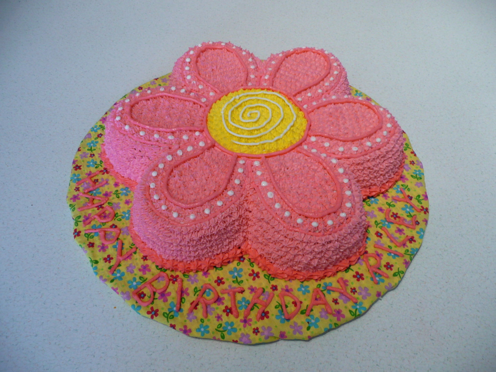Cake Art Flowers : Flower Cakes   Decoration Ideas Little Birthday Cakes