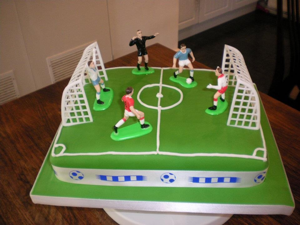 Football Field Cake Designs