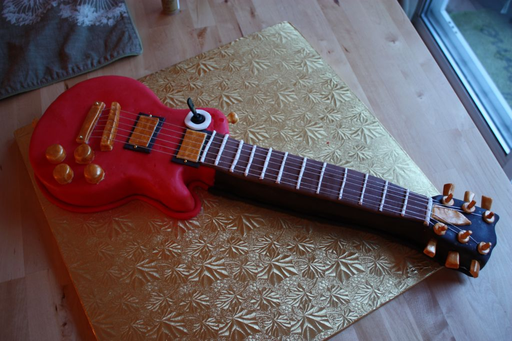 Guitar Birthday Cakes