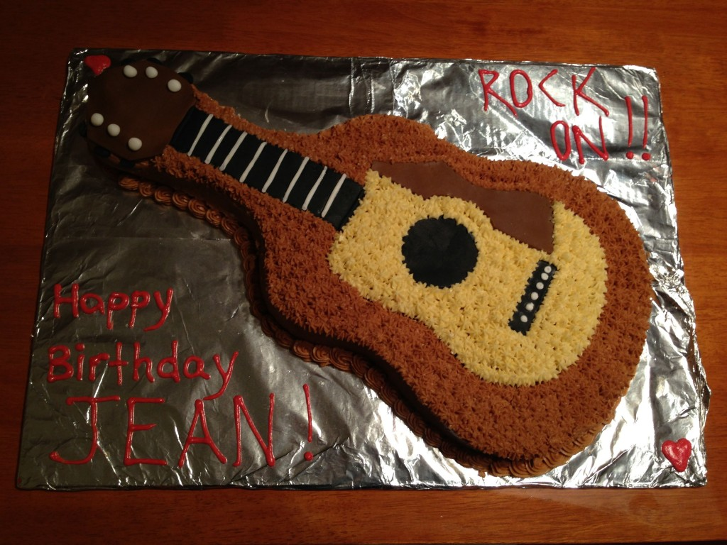 Guitar Cake For Kids