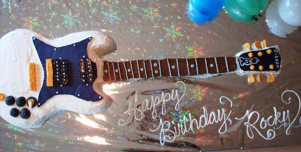 Guitar Cake Images