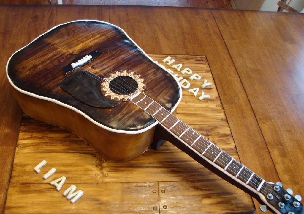 Guitar Cake Pans
