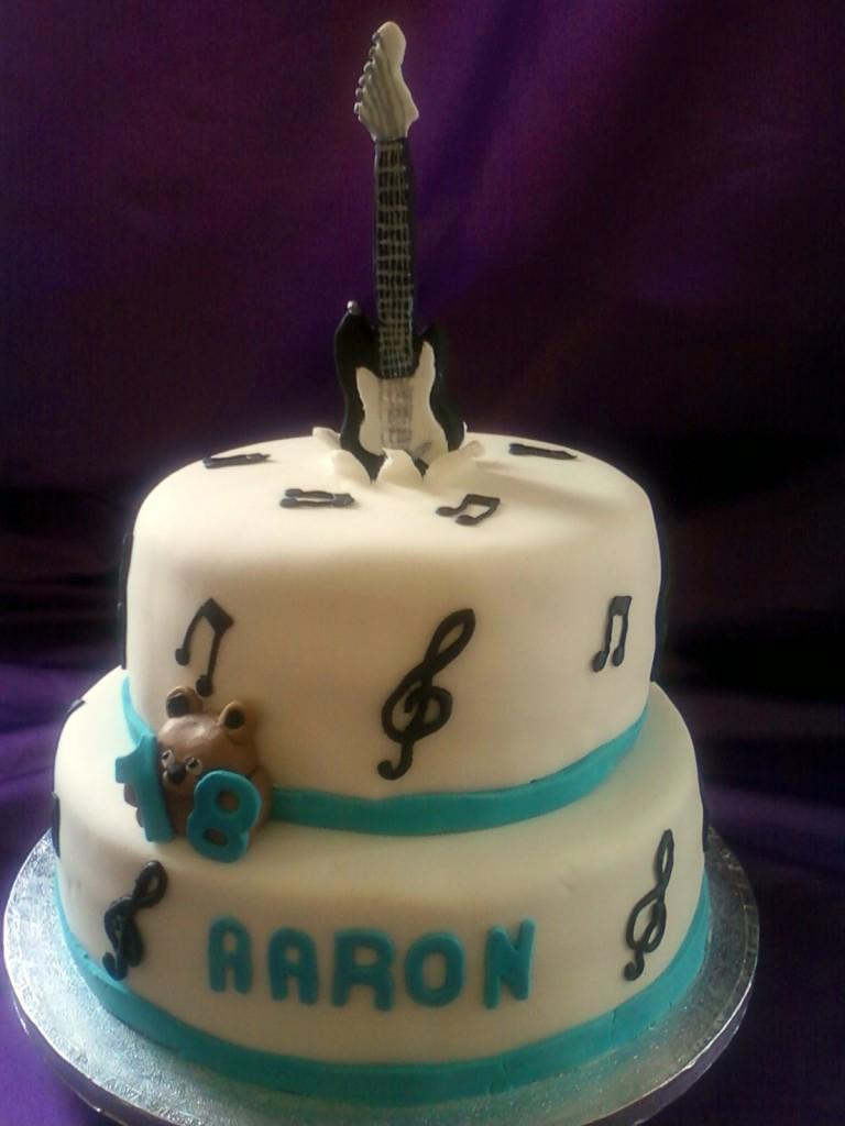 Guitar Cake Photo
