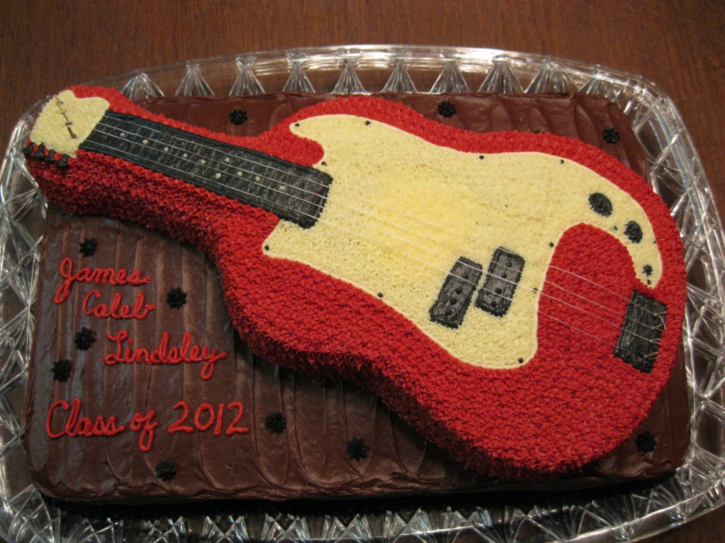 Guitar Cake Picture