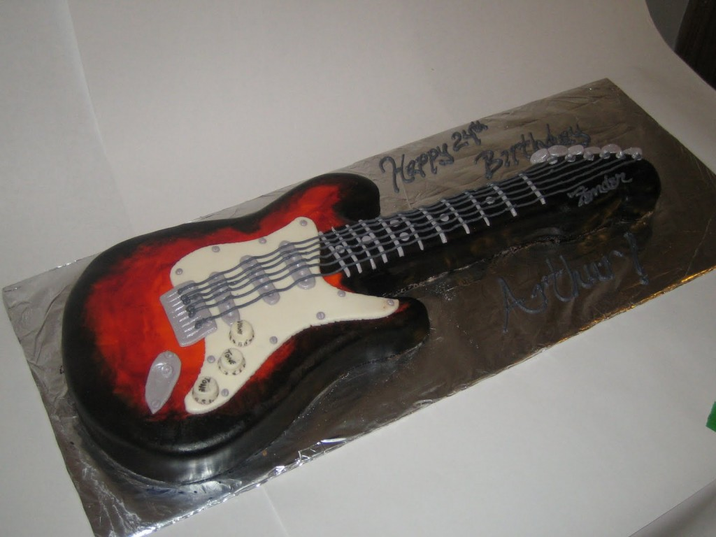Guitar Cake Pictures