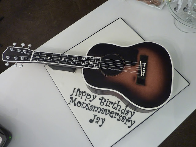 Guitar Cakes Decoration Ideas Little Birthday Cakes