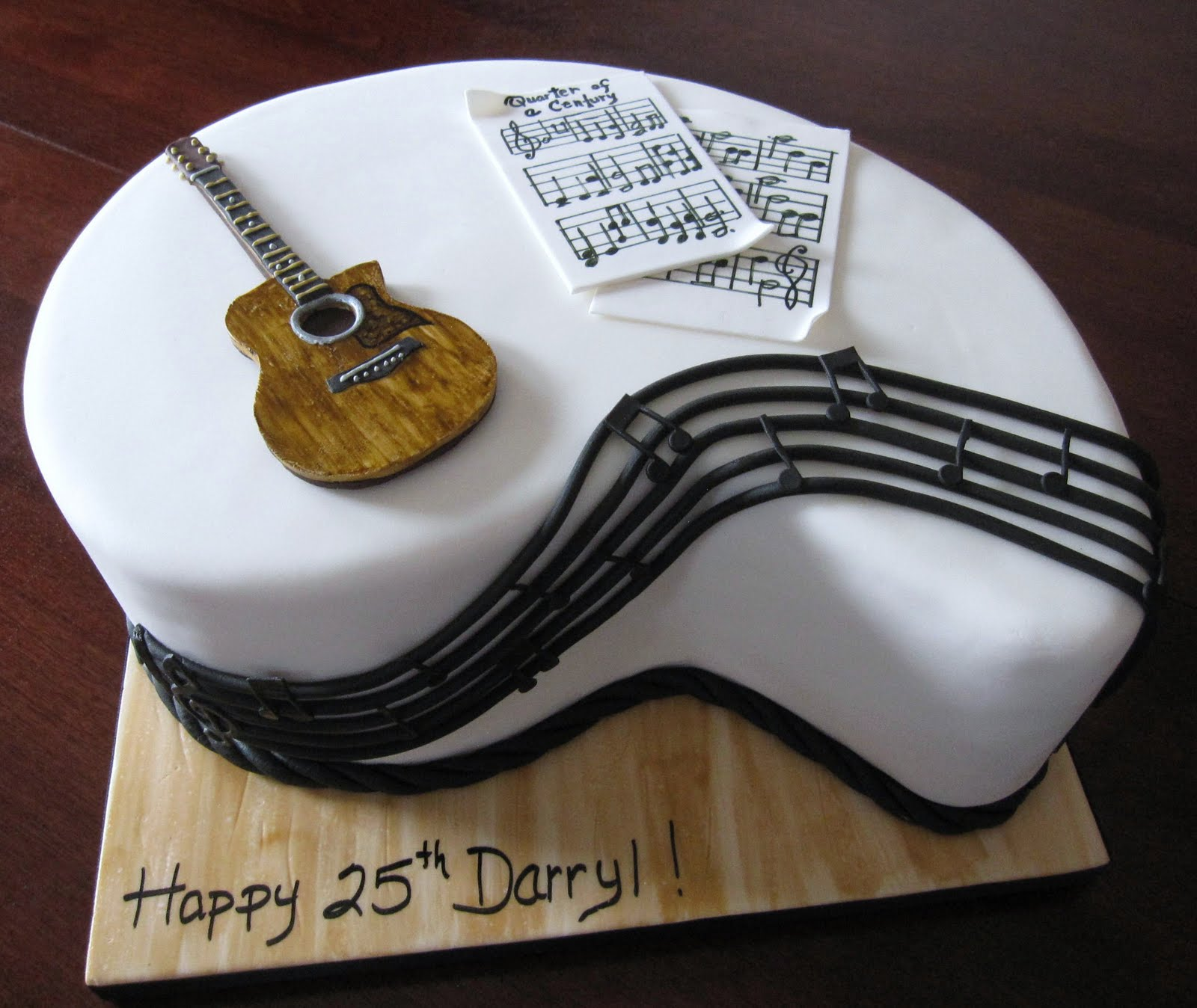 Images Of Guitar Cake : Guitar Cakes   Decoration Ideas Little Birthday Cakes
