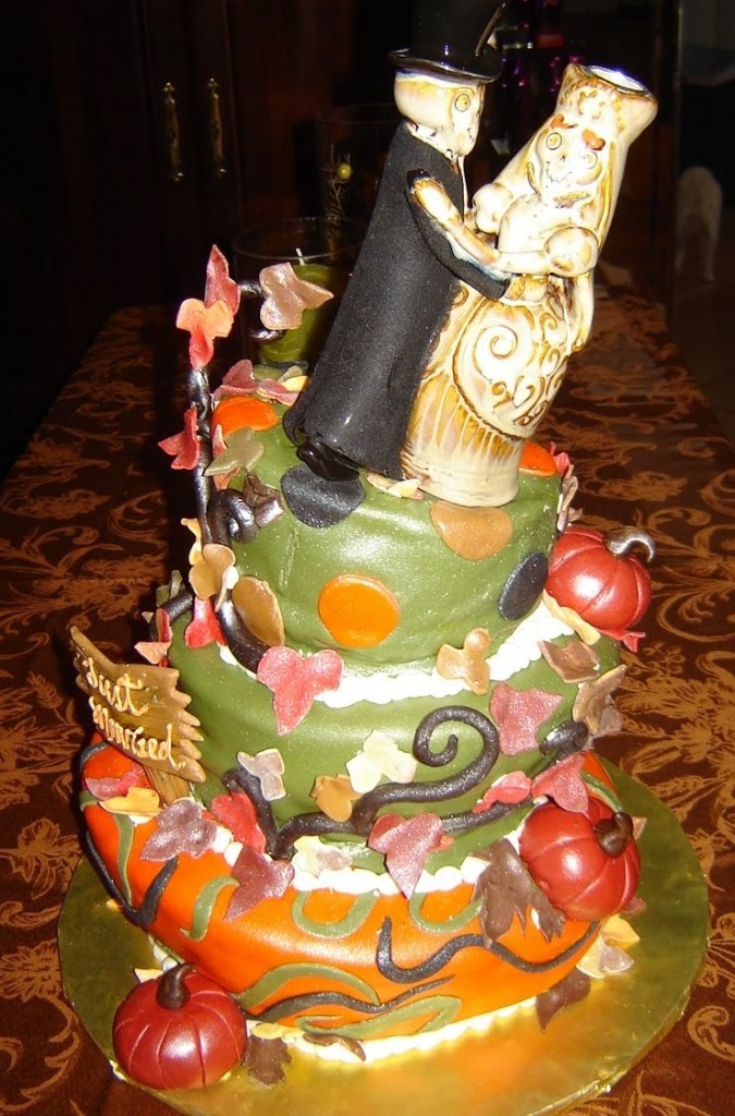 Halloween Cake Designs