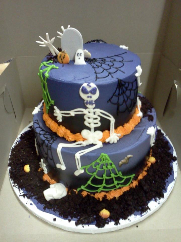 halloween cake ideas - Halloween Decorated Cakes