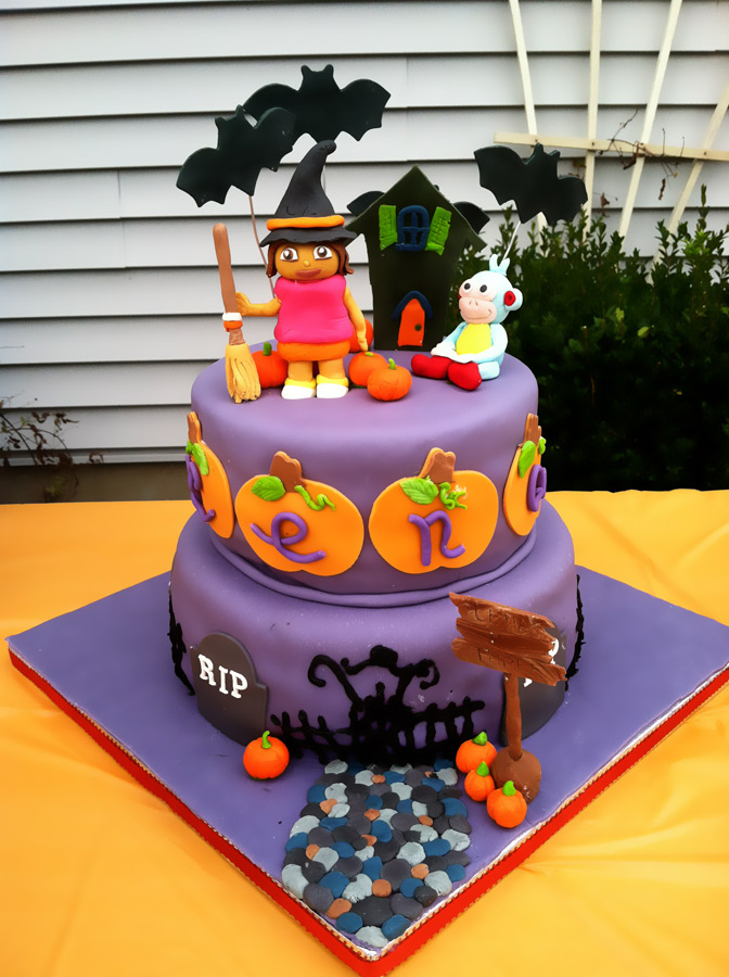 Halloween Cakes Photos
