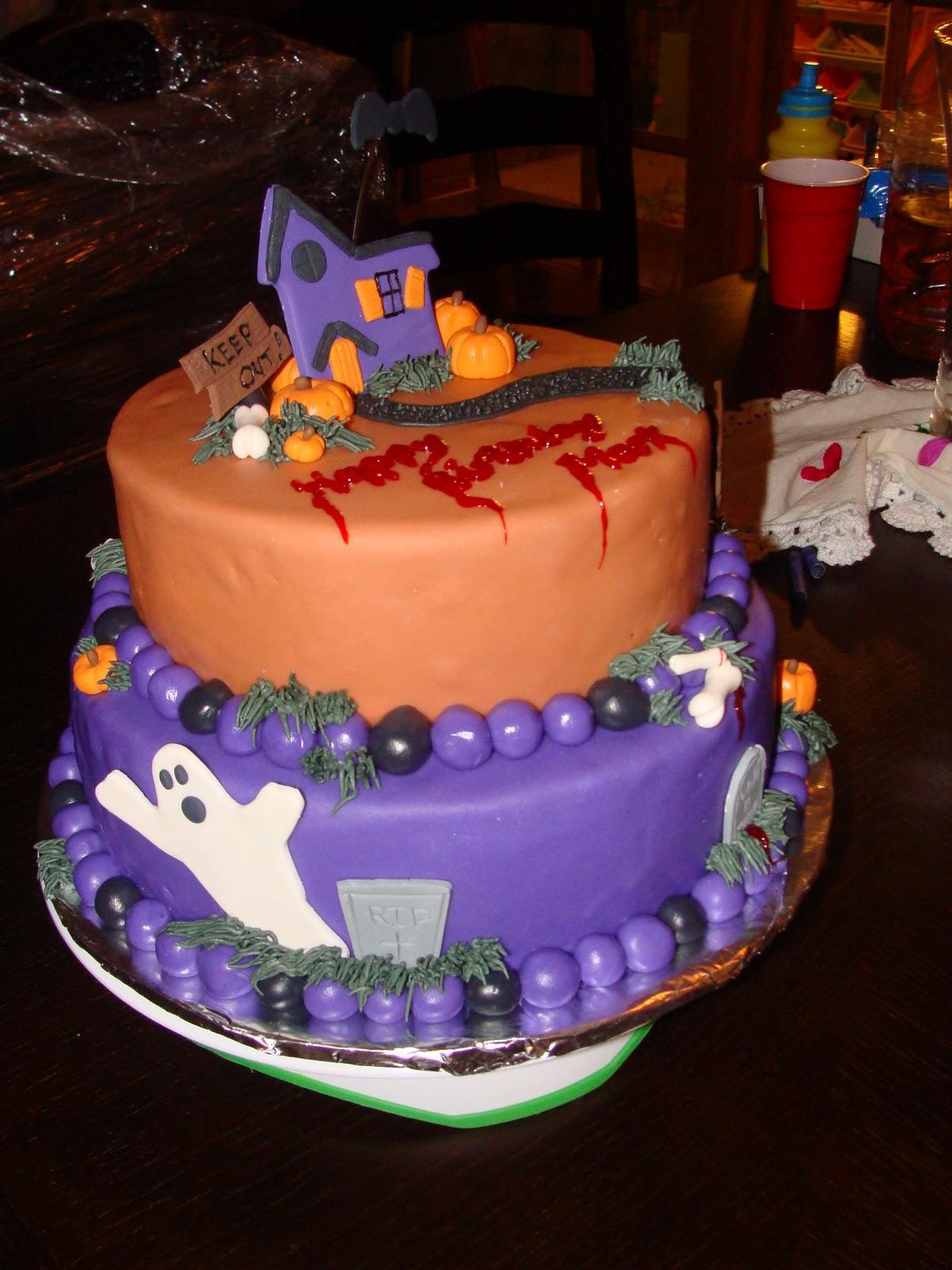Halloween Wedding Cake Decorations